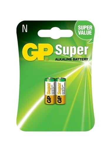 GP Gp 910A Lr1 Alkalin Kısa Kalem Pil Lr1 / N / Mn9100 / E90 Renksiz
